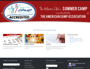 The Atlantic Club Summer Camp Website