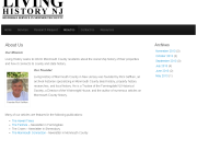 Living History NJ website
