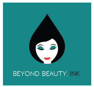 Permanent Makeup Logo Black Inkdrop