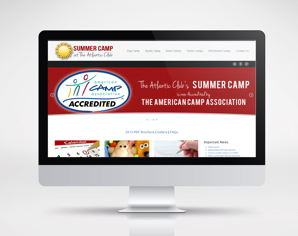 summer camp website