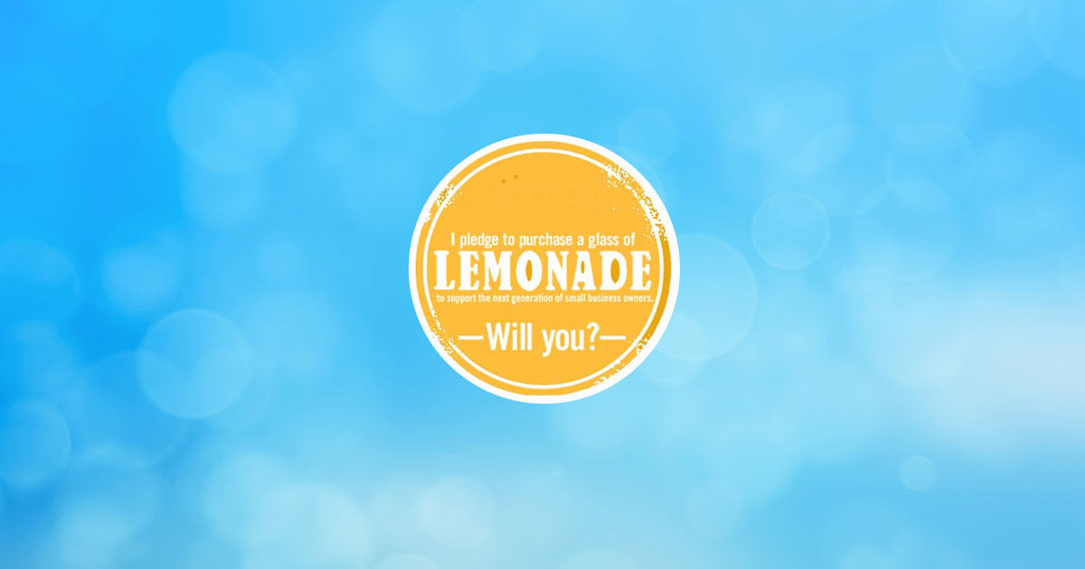 lemonade pledge young business owners nfib