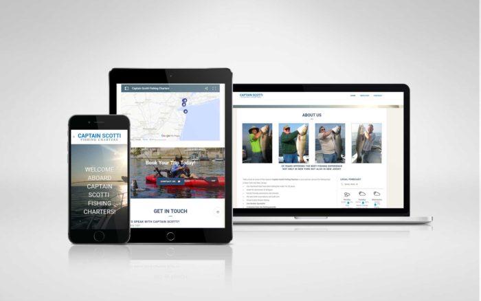 fishing charter website